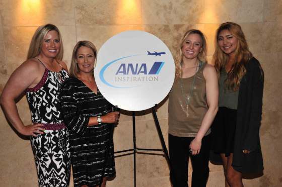 2016 ANA Inspiration launches with LPGA Stars & Paralympian Jessica  Long 2