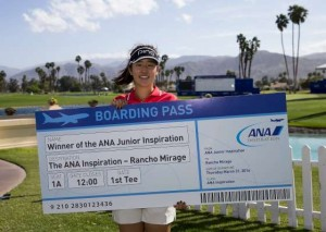 Andrea Lee - ANA Junior Inspiration